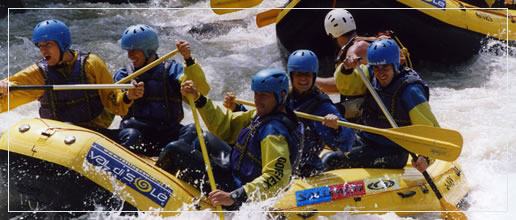 Rafting in Val di Sole - Il torrente Noce